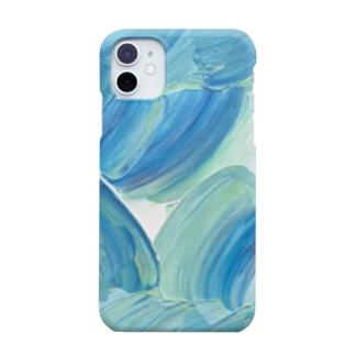 MoMiziの海の花 Smartphone cases