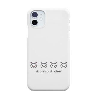 niconico U-chan /ニコニコうーちゃん Smartphone cases