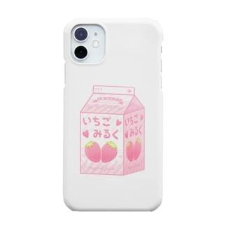 いちごみるく Smartphone cases