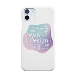 ウェブデザイン タイポグラフィ Smartphone cases