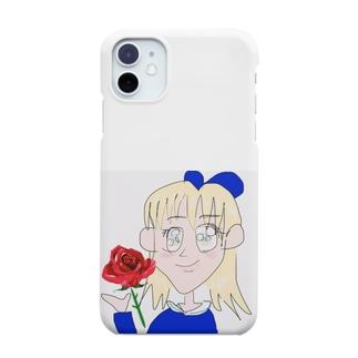 ローズgirl Smartphone cases