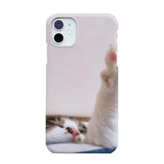 ねこは毎日眠い。 Smartphone cases
