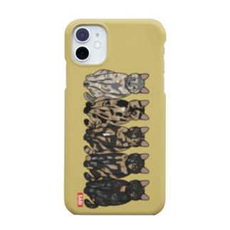 さび猫グラデ 11 Smartphone cases
