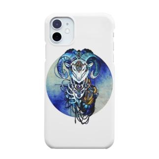 夢羊ver.2 泥中のレプリカ(カラー) Smartphone cases