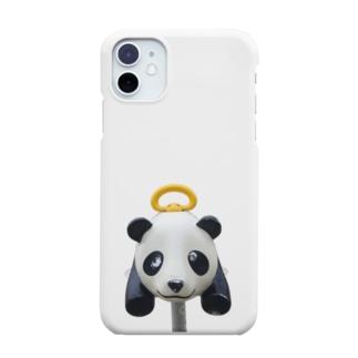 遊具〈パンダ〉 Smartphone cases