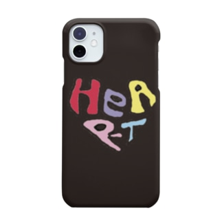HEART black Smartphone cases