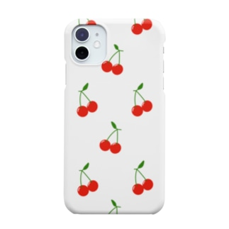 Cherry  White Smartphone cases