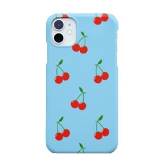 Cherry  Blue Smartphone cases