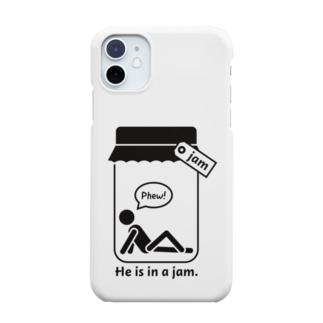 おもしろ英語表現(be in a jam) Smartphone cases