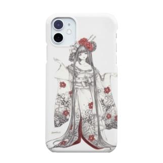 褪せと紅 Smartphone cases