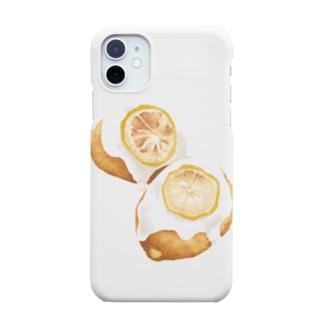 レモンケーキ Smartphone cases