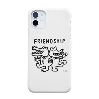 天明幸子 SUZURI  オフィシャルショップのfriendship Smartphone cases