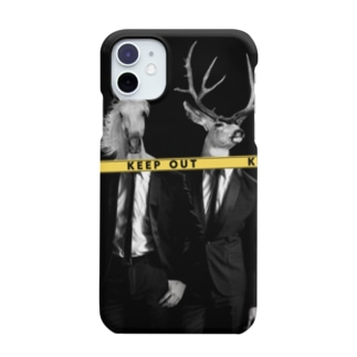 KEEP OUT - simple ver - Smartphone cases