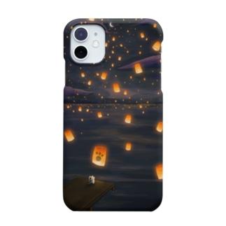 捨て子サウルス「たびさきのふうけい」 Smartphone cases