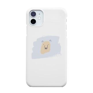 クマさん Smartphone cases