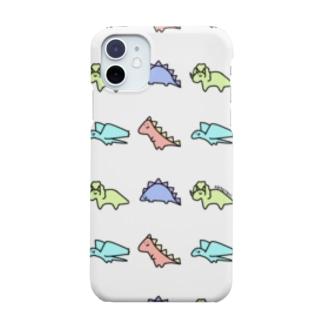 恐竜くんたち Smartphone cases