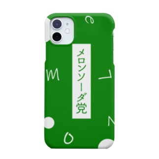 メロンソーダ党 Smartphone cases