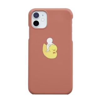 ひよ子 赤 Smartphone cases