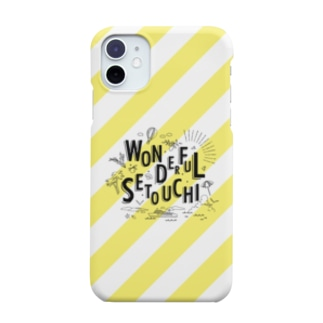WONDERFUL SETOUCHI YELLOW Smartphone cases