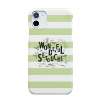 WONDERFUL SETOUCHI GREEN Smartphone cases