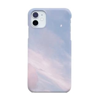 夏の空 いちごシロップ🍓 Smartphone cases