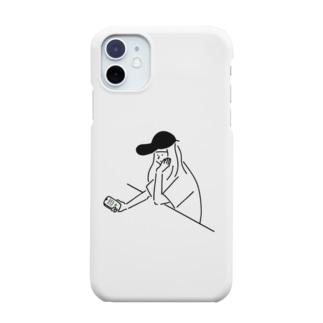 Girl ガール #3 イラスト  Smartphone cases