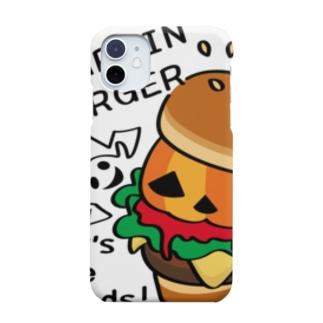CT14 Gz かぼちゃバーガーA Smartphone cases