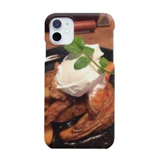 ミナトグリルのお土産屋さんのジャンクポテト Smartphone cases