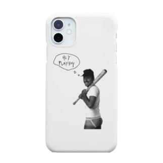 野球メン Smartphone cases