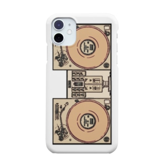 United Sweet Soul MerchのDJ Booth -Brown- Smartphone cases