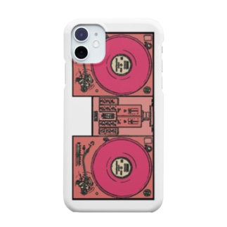United Sweet Soul MerchのDJ Booth -Pink- Smartphone cases