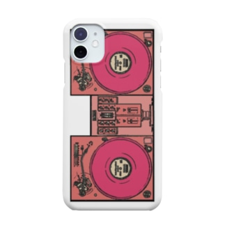 DJ Booth -Pink- Smartphone cases