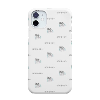 ばけるーぱー白 Smartphone Case