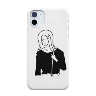 Girl ガール #4イラスト Smartphone cases