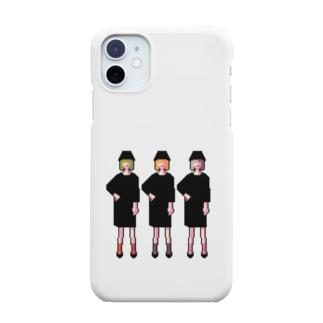 三人の女の子 Smartphone cases