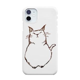 デブ猫さん Smartphone cases
