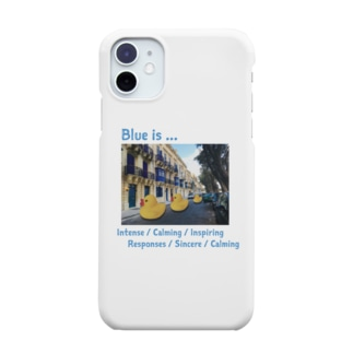 Blue is... Smartphone cases