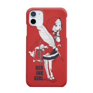 RED INK GIRL Smartphone cases