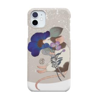 スマホケース【ねずみ】 Smartphone Case