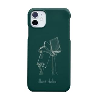 ブックス(黒板) Smartphone cases