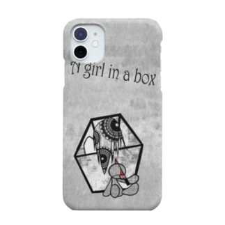 A girl in a box Smartphone cases