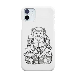 三面大黒天様 Smartphone cases