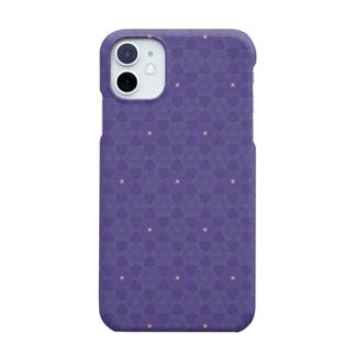 さそり座のヘキサグラム(星座パターンシリーズ) Smartphone cases