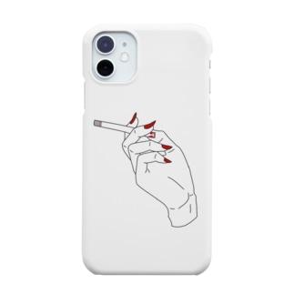 女の煙草 Smartphone Case