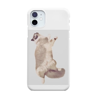 TUNA猫 ぐでっと Smartphone cases