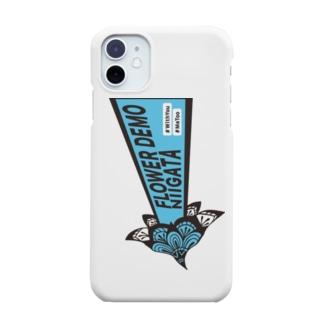 ロゴ ブルー Smartphone cases