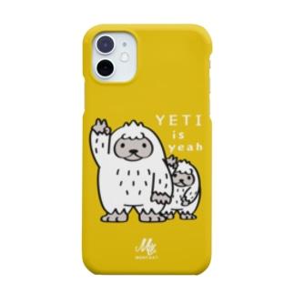 *suzuriDeMonyaa.tag*のCT94 YETI is yeah*C2488 Smartphone cases