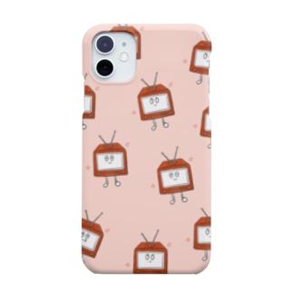 わくわくテレビくんスマホケース Smartphone cases