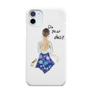 バレエ バレリーナ Smartphone cases