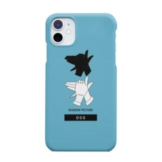 影絵_DOG Smartphone cases